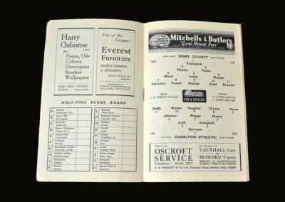 Derby v Charlton 04.12.1948