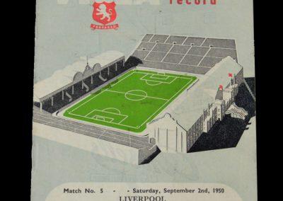Man Utd v Aston Villa 04.09.1950