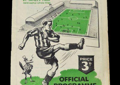 Man Utd Reserves v Newcastle Reserves 07.10.1950