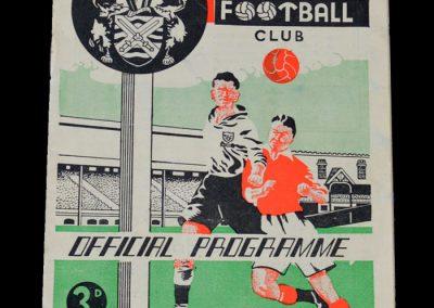Man Utd v Fulham 16.12.1950