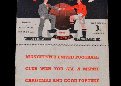 Man Utd v Bolton 23.12.1950
