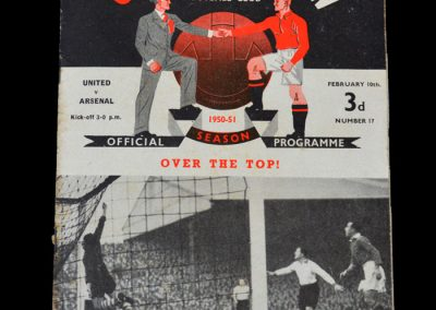 Man Utd v Arsenal 10.02.1951 - FA Cup 5th Round
