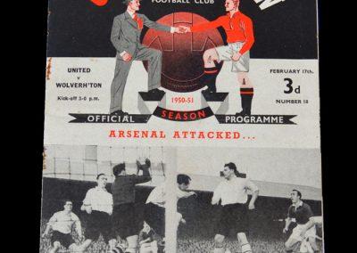 Man Utd v Wolves 17.02.1951