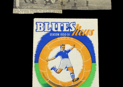 Man Utd v Birmingham 24.02.1951 - FA Cup 6th Round