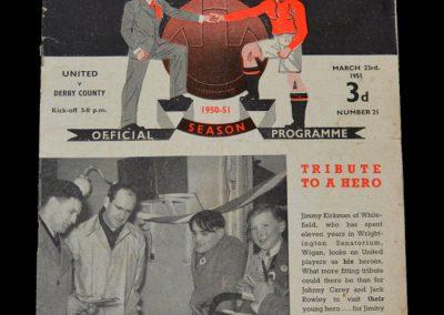 Man Utd v Derby 23.03.1951