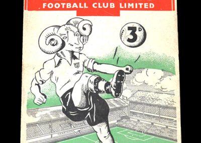 Derby v West Brom 07.10.1950