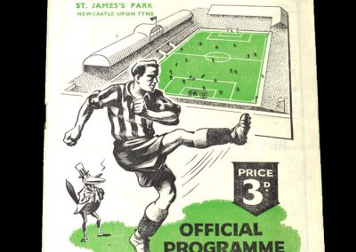 Newcastle v Arsenal 23.09.1950