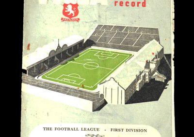 Newcastle v Aston Villa 07.10.1950