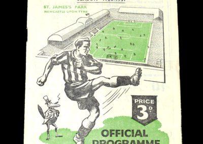 Newcastle Reserves v Sheff Wed Reserves 03.02.1951