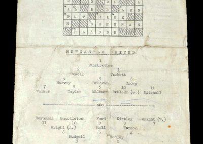 Newcastle v Sunderland 26.03.1951