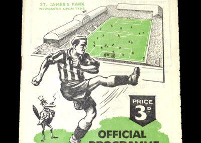 Newcastle v Spurs 07.04.1951