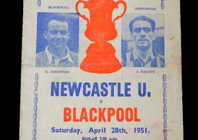 Newcastle v Blackpool 28.04.1951 - FA Cup Final (pirate)