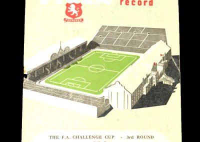 Aston Villa v Burnley 06.01.1951 - FA Cup 3rd Round