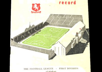 Aston Villa v Blackpool 03.02.1951