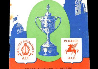 Bishop Auckland v Pegasus 21.04.1951 - FA Amateur Cup Final