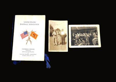 Scottish US Tour Menu and Pictures 18.06.1939