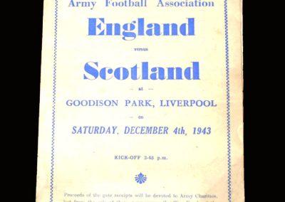 England v Scotland 04.12.1943 (Army Match) 2-2