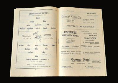 Man Utd v Huddersfield 09.12.1950