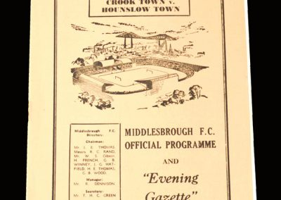 Crook v Hounslow 21.04.1962 - FA Amateur Cup Final