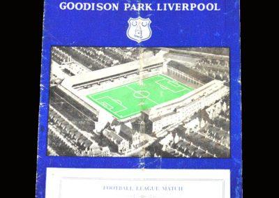 Man Utd v Everton 06.03.1957