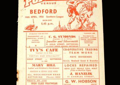 Kettering v Bedford 16.04.1956