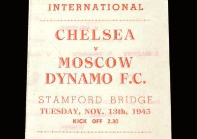 Chelsea v Dynamo 13.11.1945 (pirate)