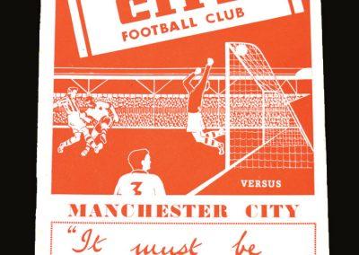 Man City v Stoke 23.08.1952