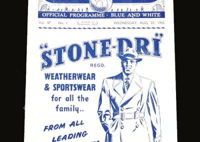 Man City v Spurs 27.08.1952