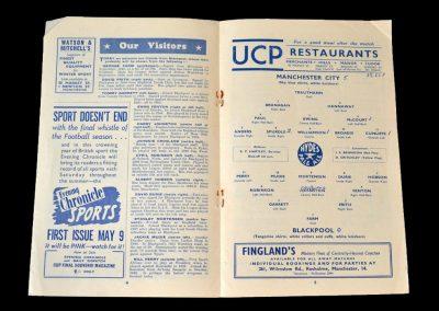 Man City v Blackpool 25.04.1953