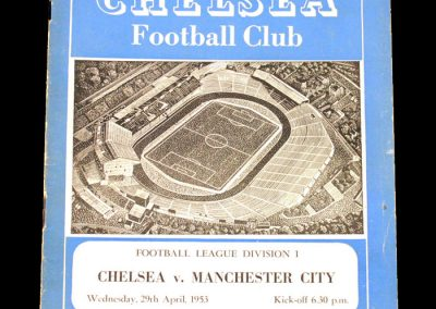 Man City v Chelsea 29.04.1953