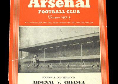 Arsenal v Chelsea 25.12.1952