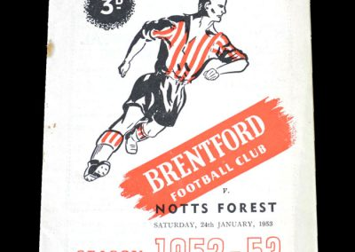 Brentford v Notts Forest 24.01.1953