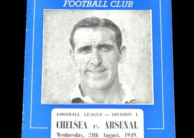 Arsenal v Chelsea 24.08.1949