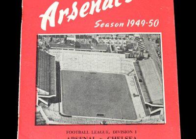 Arsenal v Chelsea 31.08.1949