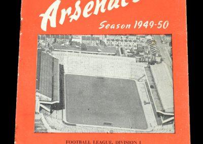 Arsenal v Fulham 05.11.1949