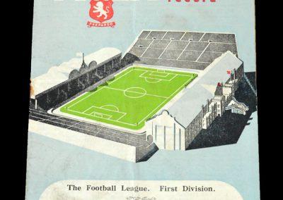 Arsenal v Aston Villa 26.11.1949