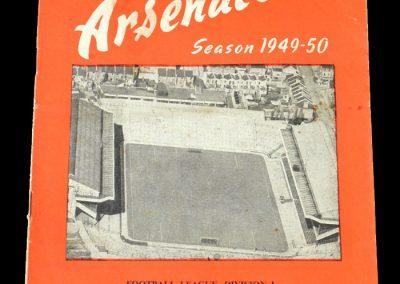 Arsenal v Wolves 03.12.1949
