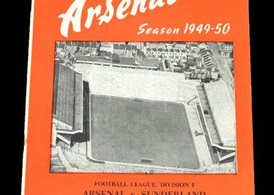 Arsenal v Sunderland 24.12.1949