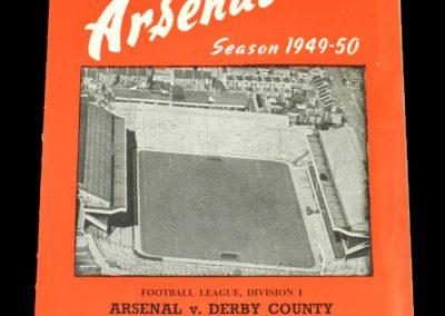 Arsenal v Derby 18.02.1950