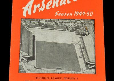 Arsenal v Man City 01.04.1950