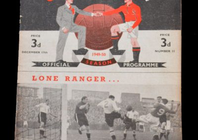 Derby v Man Utd 17.12.1949