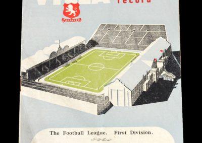 Aston Villa v Birmingham City 10.12.1949