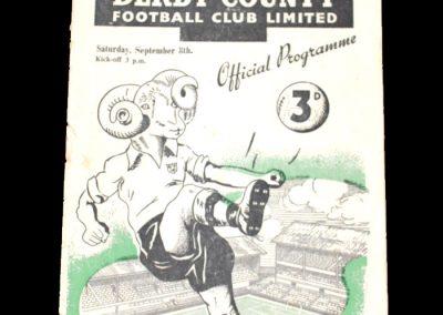 Man City v Derby 08.09.1951