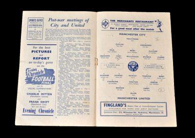 Man City v Man Utd 15.09.1951