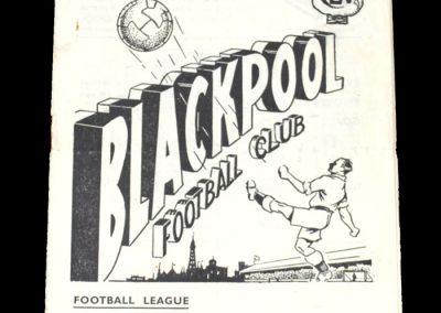 Man City v Blackpool 29.09.1951