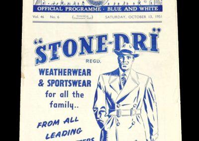 Man City v Preston 13.10.1951