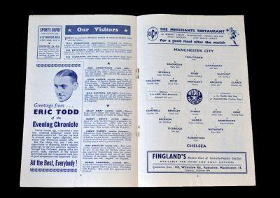 Man City v Chelsea 26.12.1951