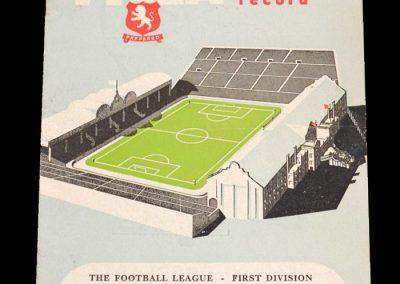 Man City v Aston Villa 29.12.1951