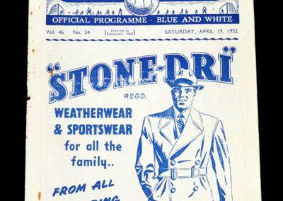 Man City v Bolton 19.04.1952