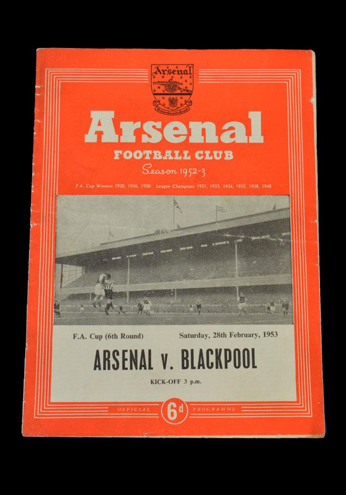 FA Cup 1952-1953 - 10 Footballs